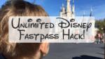 Unlimited Disney Fastpass