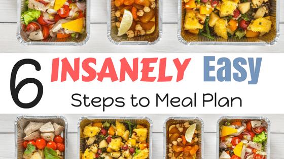 Meal Planning steps